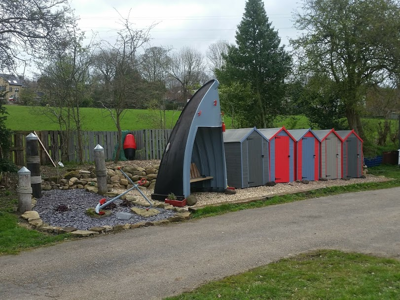 boat yard storage huts